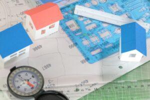 測量図と実際の土地の形状が異なる場合